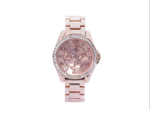 Rose Gold Coloured Watch