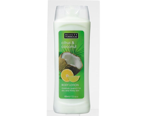 Coconut & Citrus Body Lotion