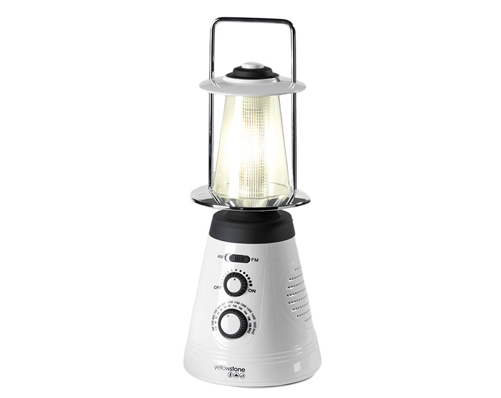 LED Lantern With Radio