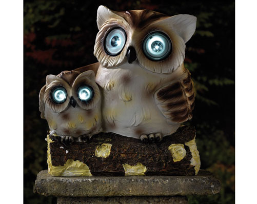 Owl & Baby Solar Light