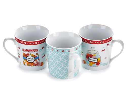 Set Of 3 Mugs