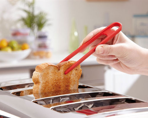 Silicone Toaster Tongs