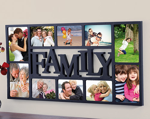 10-Piece Photo Frame