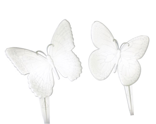 2 Glow In The Dark Butterflies