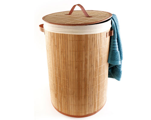 Bamboo Laundry Basket - Was £30