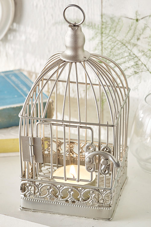 Bird Cage Tea-Light Holder