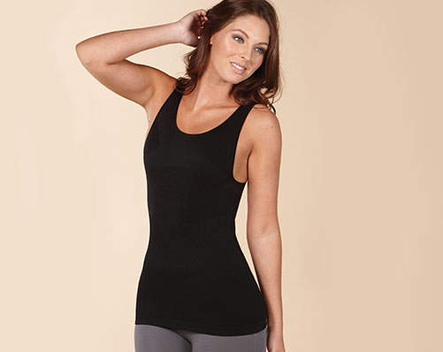 Black Control Top. - Was £15.99