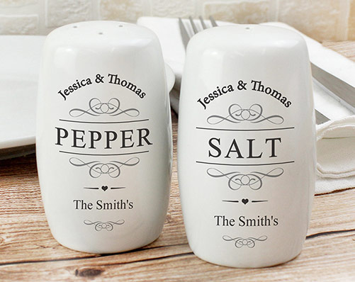 Ceramic Salt and Pepper Pots