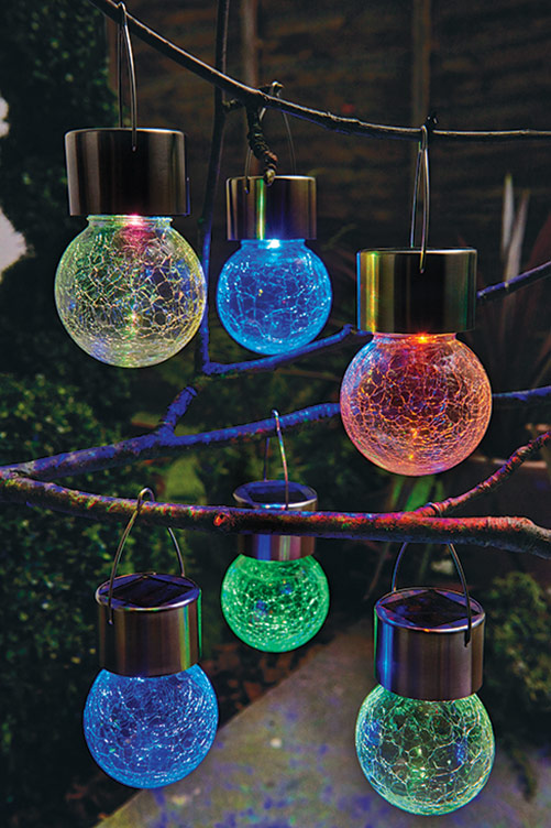 Crackle Ball Solar Lights