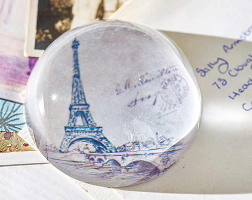 Eiffel Tower Paper Weight