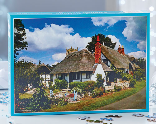 English Cottages Jigsaw