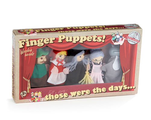 Finger Puppets - Was £14.99