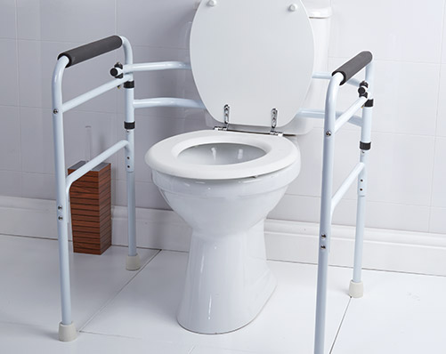 Folding Toilet Support - Was £59.99
