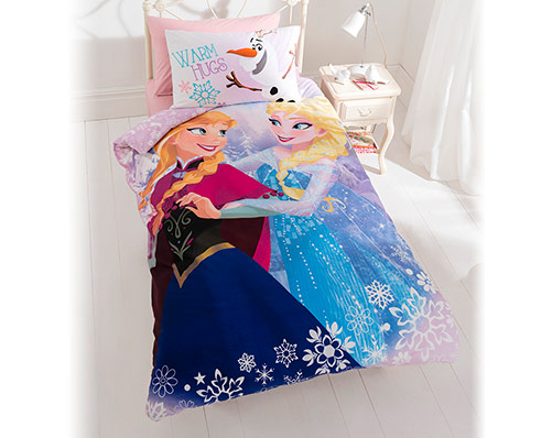 Frozen Crystal Single Panel Duvet Set