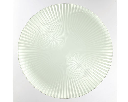 Glass-Effect Serving Plates