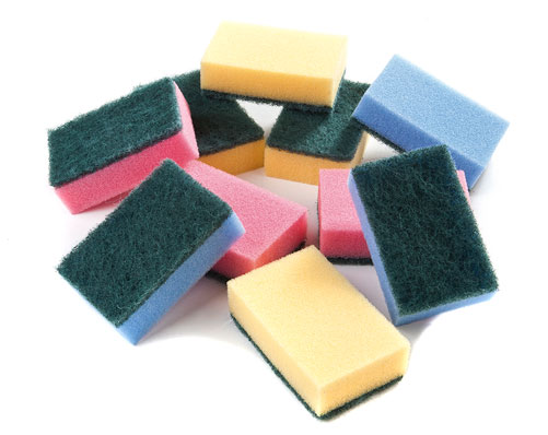 Pack Of 10 Scouring Pads