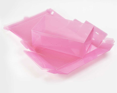 Set of 5 Pink Shoe Boxes