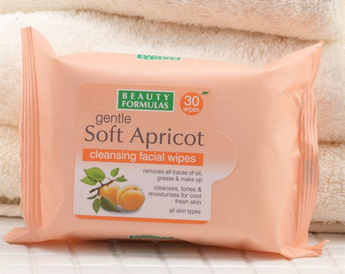 Apricot Cleansing Facial Wipes